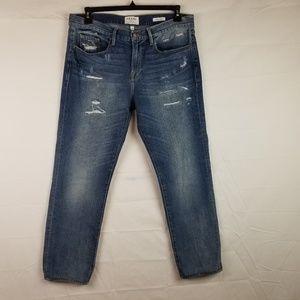 Frame Mens sz 34 x 29  L'homme Straight Cut Jeans